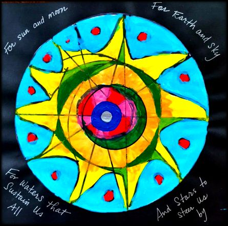 Eleanor's mandala and poem